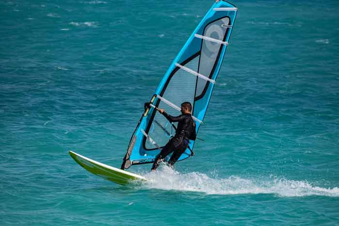 What windsurfing means, history, types and benefits