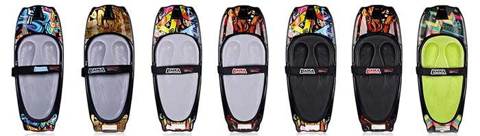 Kneeboarding boards