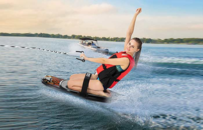 Kneeboarding form