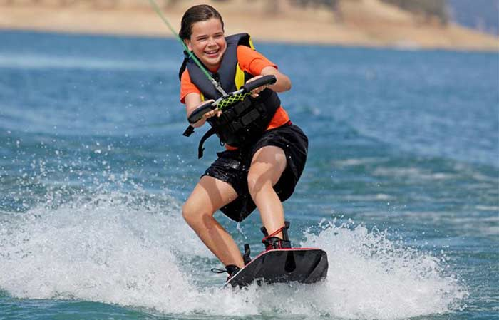 wakerboarding form