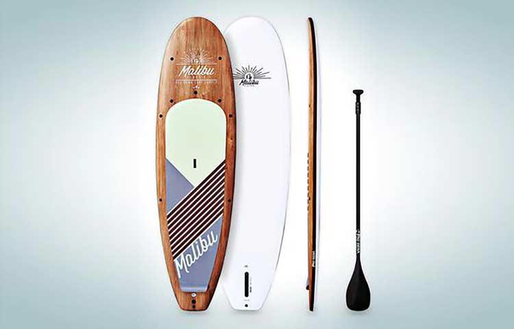 Solid paddlebord