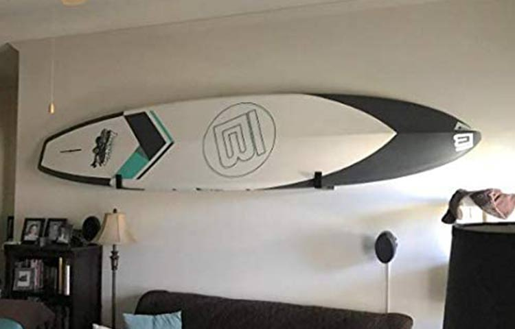 Indoor Stand Up Paddleboard Storage wall