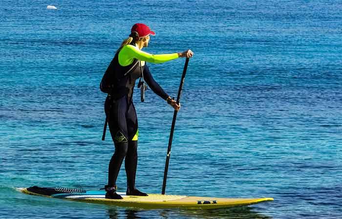 Paddle boarding clothing