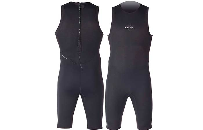 Short Jonn/Jane sleeveless wetsuit types