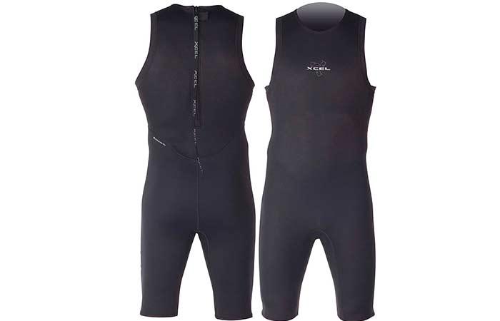 Short Jonn/Jane sleeveless wetsuit types