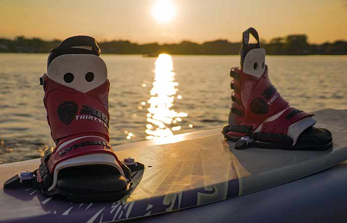 wakeboard with boots
