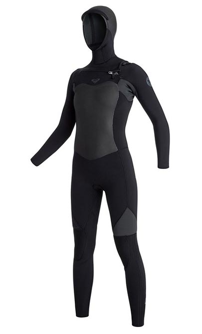 roxy syncro hooded wetsuit for women