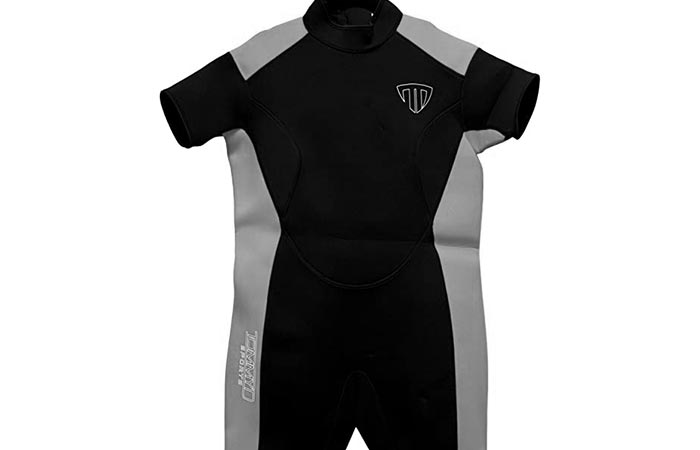 Wet suit for huge people