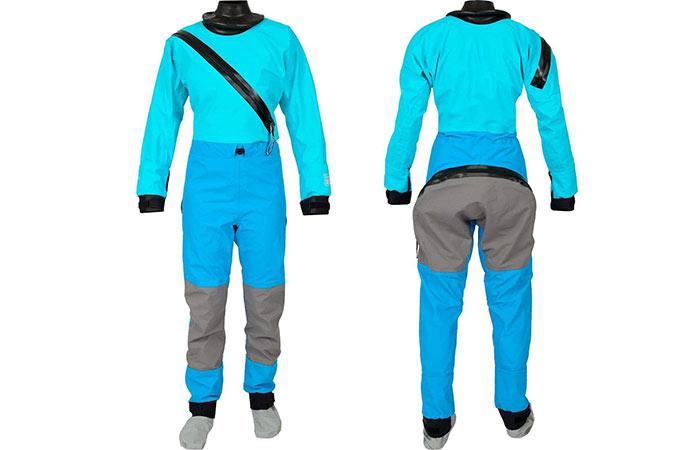 Kokatat-Womens Entry Drysuit Blue