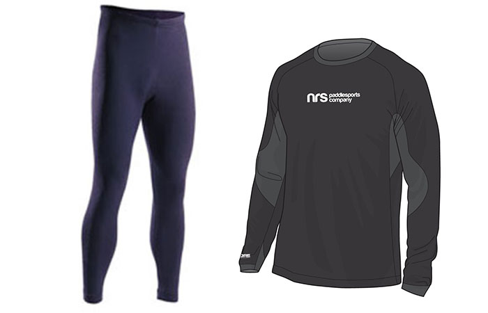 Pant and Shirt to wear underneath body-drysuit