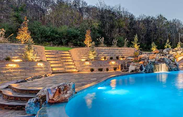 Photo of Retaining walll for pool