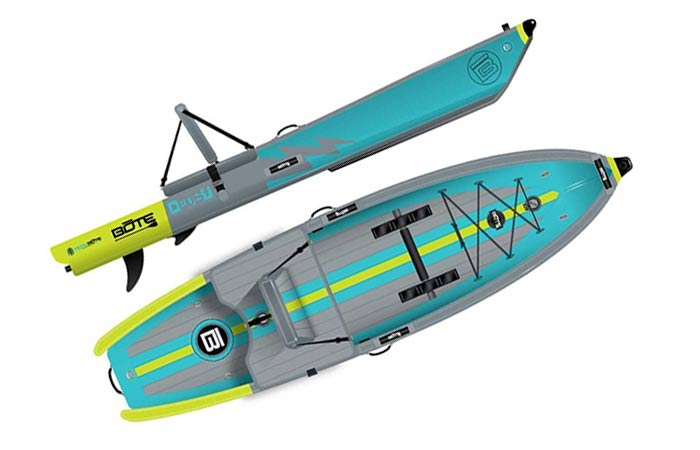 BOTE DEUS inflatable Kayak-SUP board