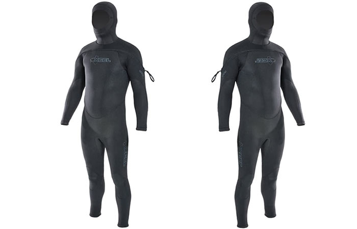 Excel Polar Hdroflex for tal and big wetsuit for men