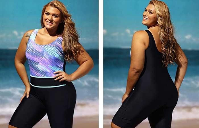 GluDear Women's Plus Size wetsuit