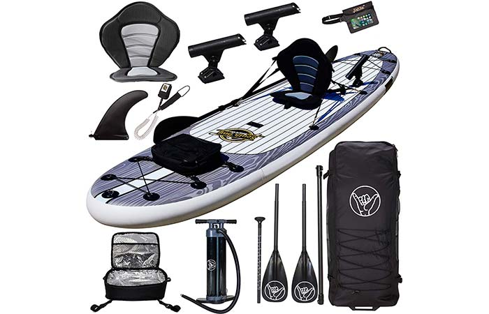"""Hippocamp 11'6"""" Stand Up, Kayaking & Fishing Inflatable Board"""