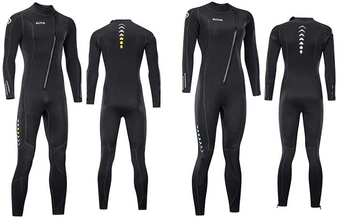 Zocco Ultra Stretch Wetsuit for men and women