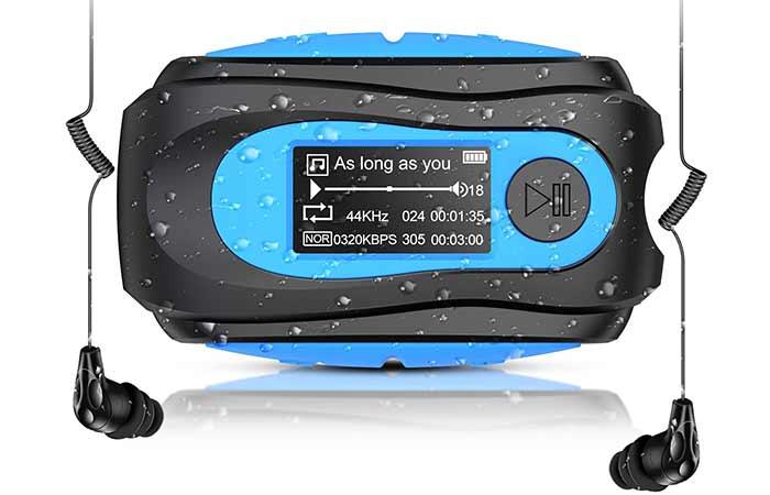 AGPTEK Swimming MP3 Player