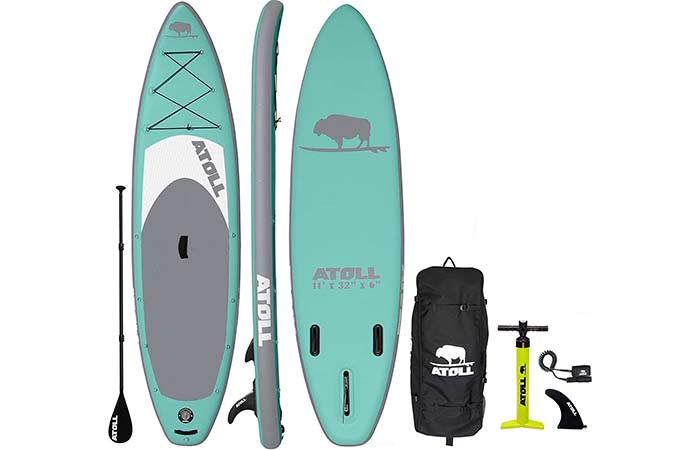 Atoll Inflatable Fishing Paddle Board