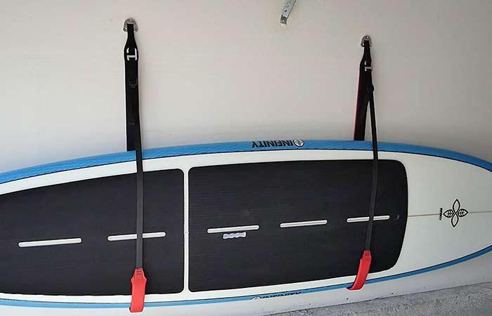 Paddleboard Wall Storage Sling strap