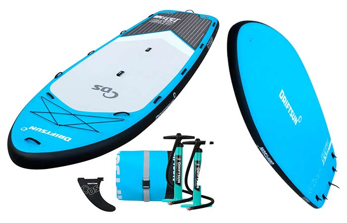 Driftsun Party Barge Multi-person inflatable Stand Up Paddle board