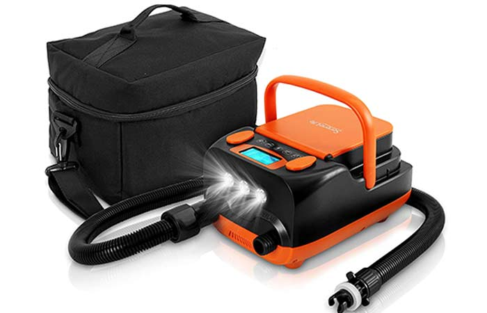 Rechargeable Electric SUP Air Pump Compressor