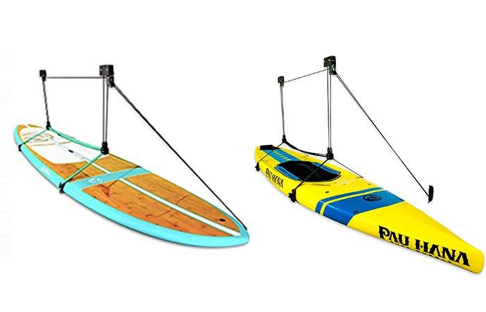 SUP/Kayak storage hoist, rafter hanger
