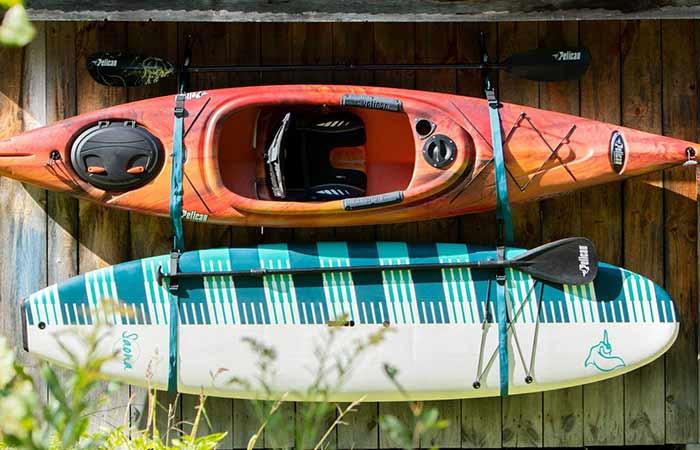 SUP/Kayak Storage Strap System Hanging
