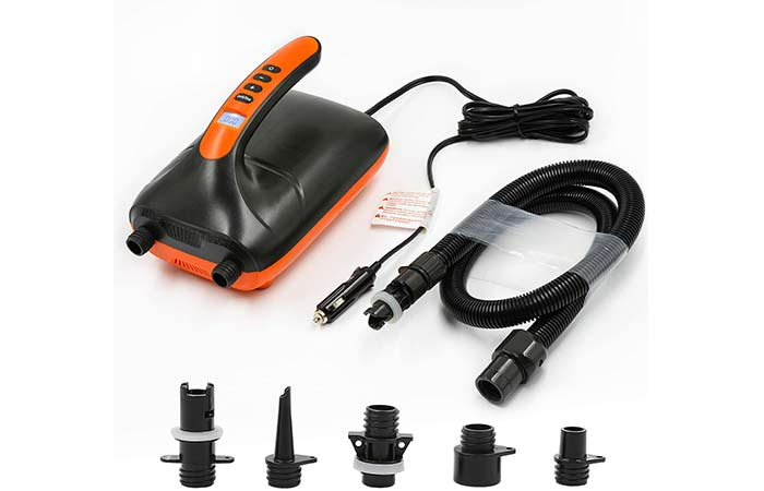 Tuomico 20 PSI SUP Electric Air Pump