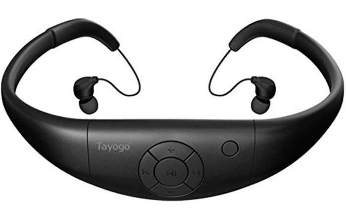 Tayogo Waterproof Swimming Headphones