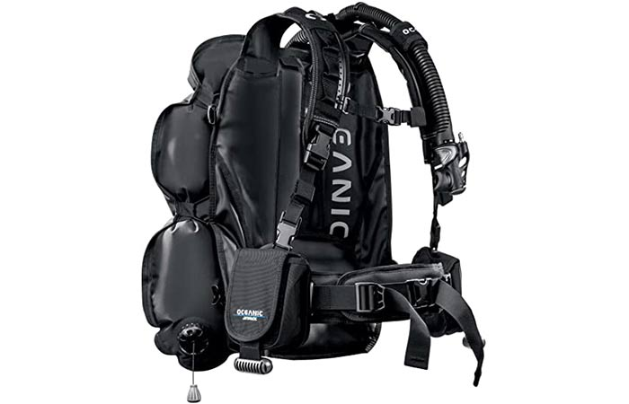 Oceanic Jetpack Scuba Diving BCD Dry Backpack