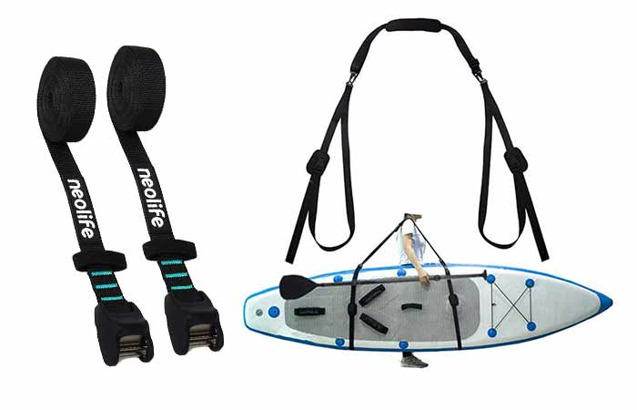 Sup Carry Straps and Tie Downs