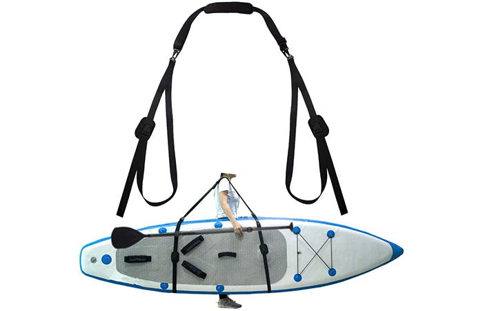 Zipseven Paddle Board Carry Straps