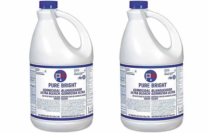 Pure bright liquid bleach